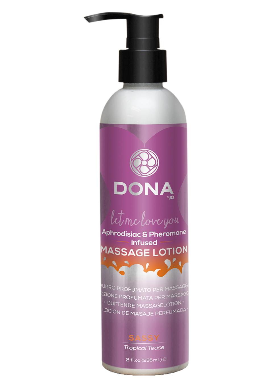 Увлажняющий лосьон для массажа Massage Lotion Tropical Tease 235ml