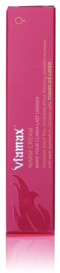 Крем женский VIAMAX WARM CREAM