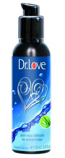 Лубрикант DR. LOVE ALOE-AQUA LUBE 100 ML