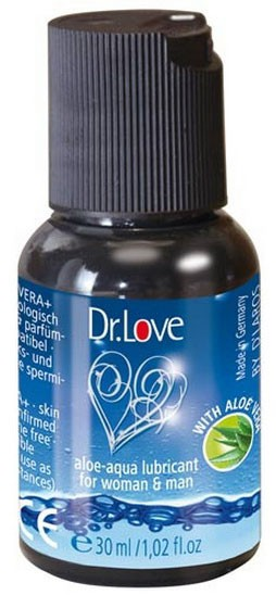 Лубрикант DR. LOVE ALOE-AQUA LUBE 30 ML