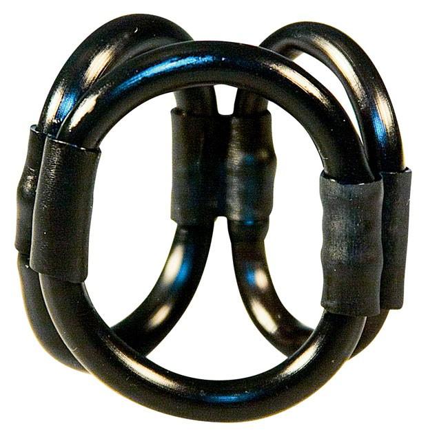 Эрекционное кольцо ROCK HARD TRIPLE POWER RING BLACK