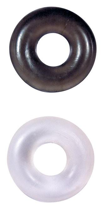 Эрекционные кольца STUD RINGS WHITE/BLACK