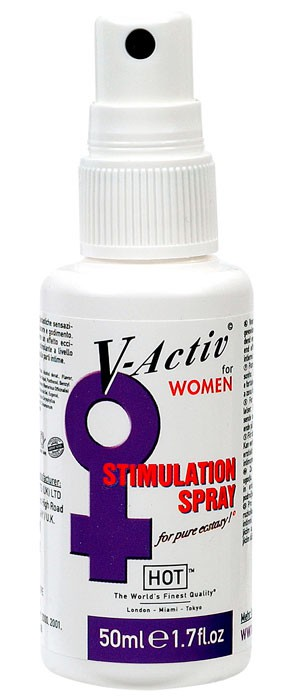 Спрей женский V-ACTIVE STIMULATION SPRAY 50 ML