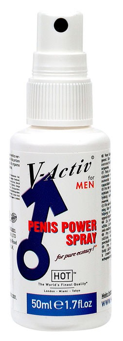 Спрей мужской V-ACTIVE PENIS POWER SPRAY 50 ML