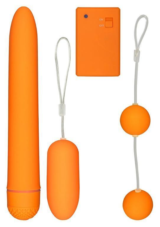 Секс-набор TOY JOY FUNKY FUN BOX ORANGE