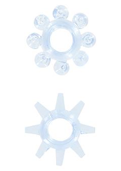 Набор эрекционных колец POWER STRETCHY RINGS BLUE