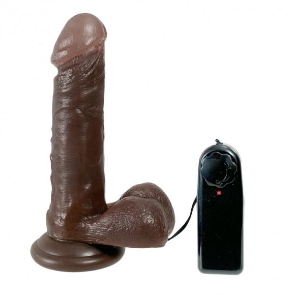 Вибратор Black Boomser, 15х4 см