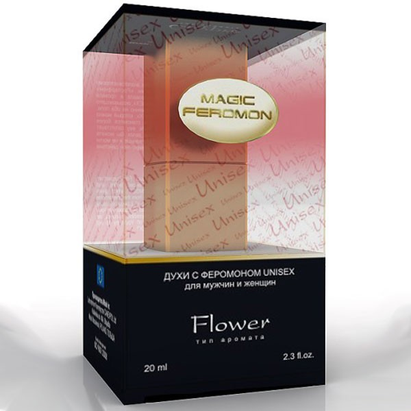 Духи с феромонами MAGIC FEROMON FLOWER 20 ML