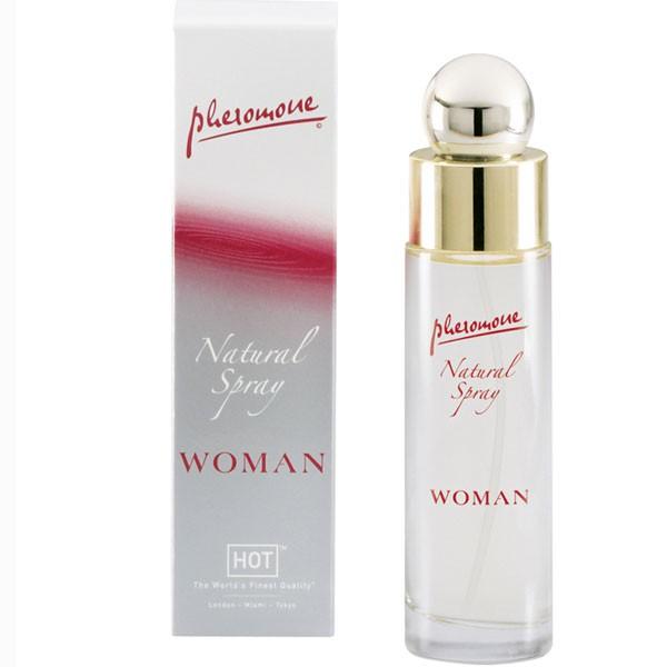 Духи женские с феромонами HOT WOMAN NATURAL SPRAY 45 ML