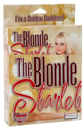 Секс кукла THE BLONDE STARLET