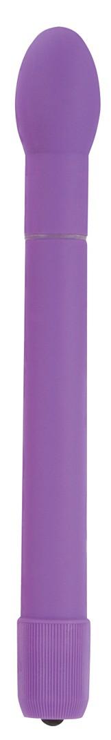 Вибратор пластиковый 7 FUNCTION SLENDER TULIP PURPLE