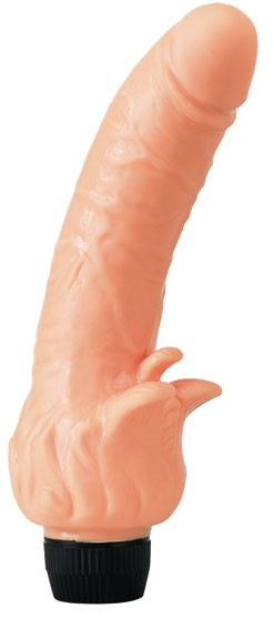 Вибратор VINYL P-SHAPE VIBRATOR FLESH PENETRATING