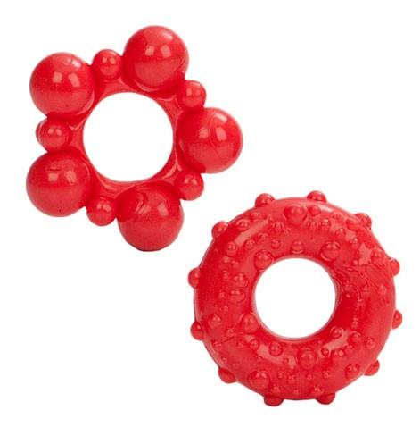 Комплект эрекционных колец MUSCLE RINGS RED