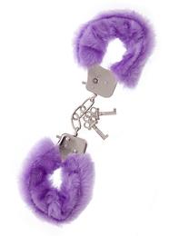 Наручники Metal Handcuff With Plush, фиолетовые