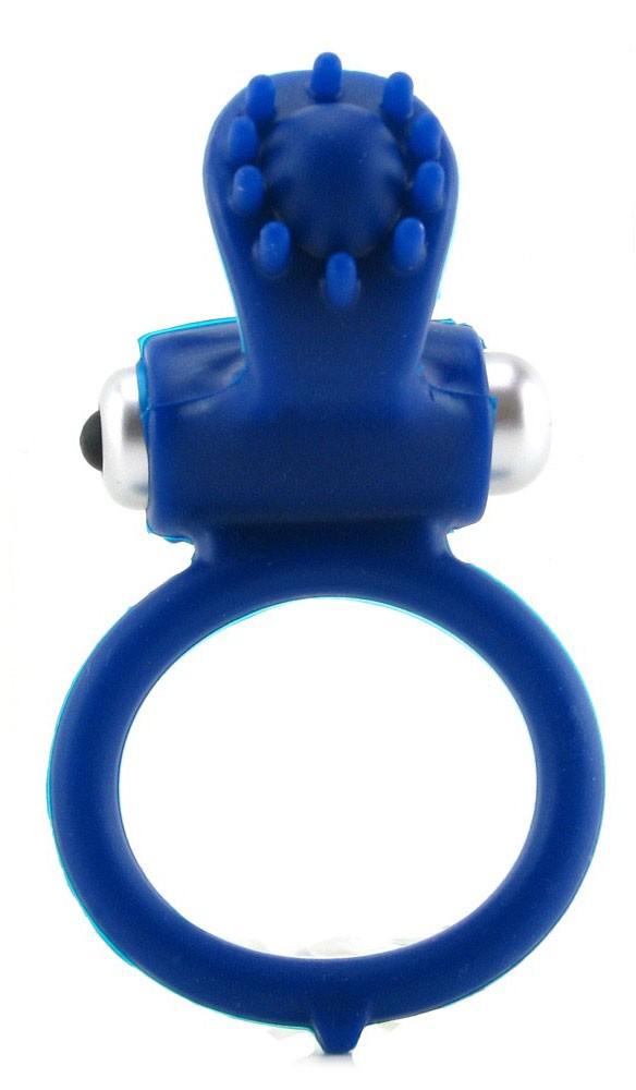 Эрекционная вибронасадка BODY & SOUL™ INFATUATION BLUE