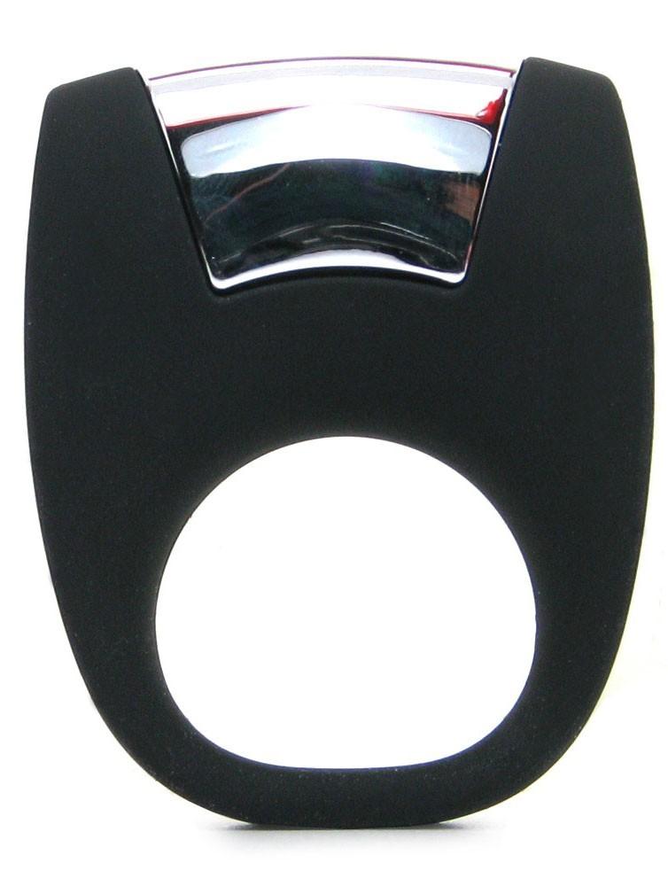 Эрекционная вибронасадка OVO B8 BLACK