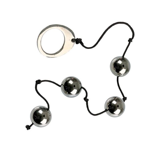 Анальные шарики ALCHEMY SOLID METAL BALLS