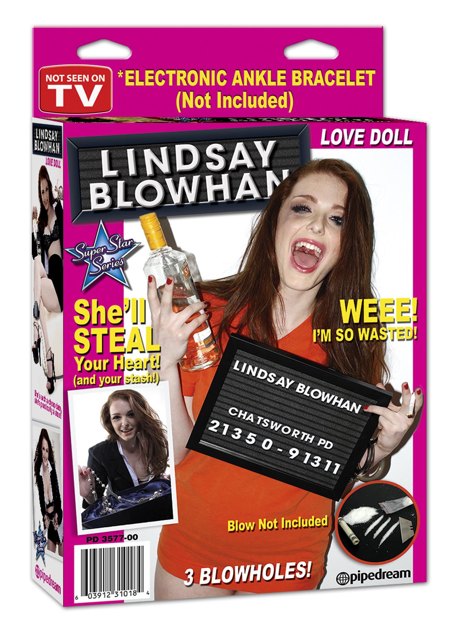 Секс кукла LINDSAY BLOWHAN LOVE DOLL