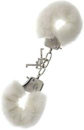 Наручники Metal Handcuff With Plush, белые