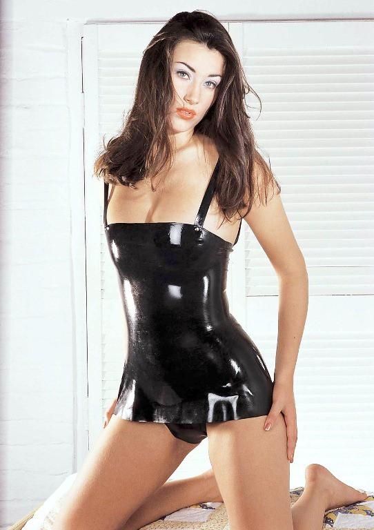 Платье латексное LATEX DRESS BLACK SMALL