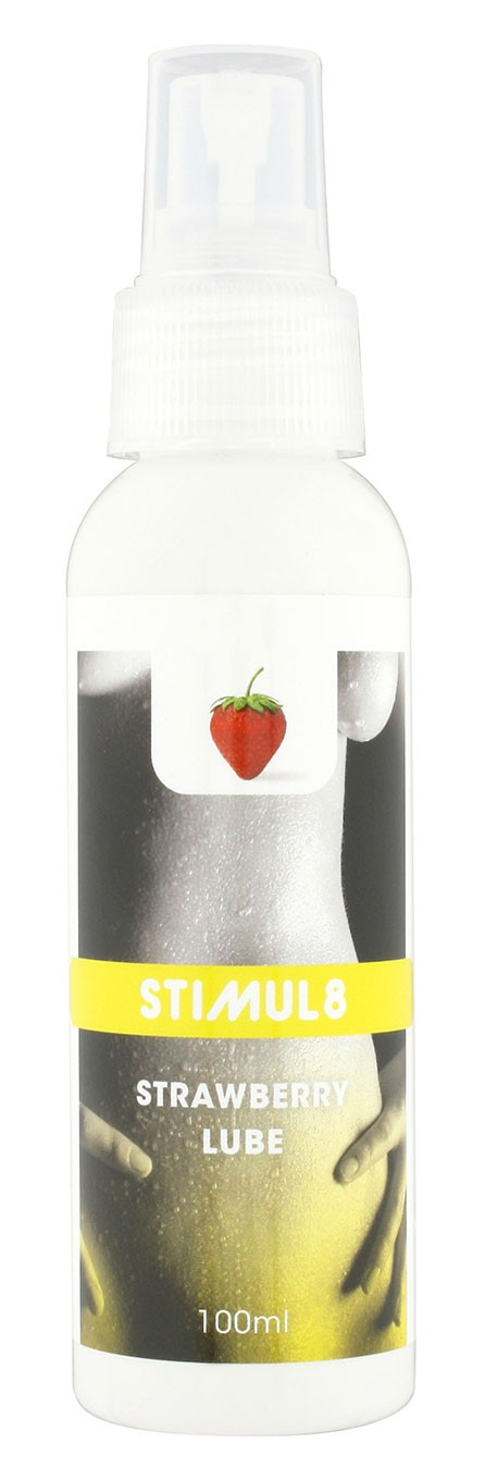 Смазка лубрикант STIMUL8 LUBE STRAWBERRY 100ML