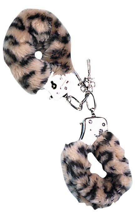 Наручники леопардовые