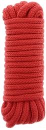 Веревка для бондажа Bondx Love Rope, 5 м, красный