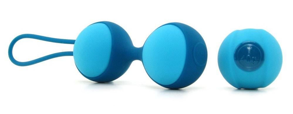 Вагинальные шарики STELLA 2 KEGEL BALL BLUE