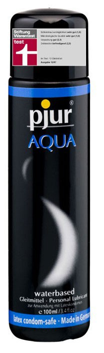 Лубрикант PJUR AQUA WATERBASED 100 ML