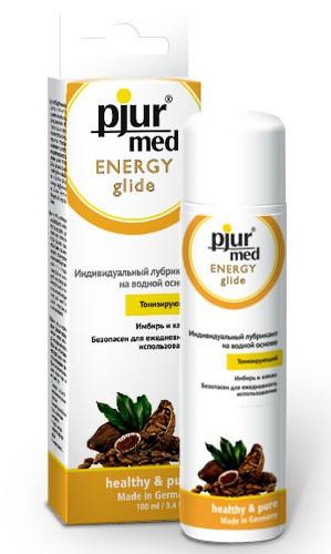 Лубрикант с имбирем и какао PJUR MED ENERGY GLIDE 100 ML