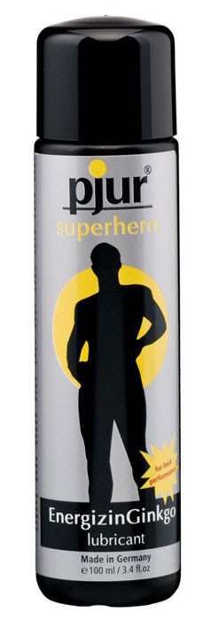 Лубрикант мужской PJUR SUPERHERO LUBRICANT 100 ML
