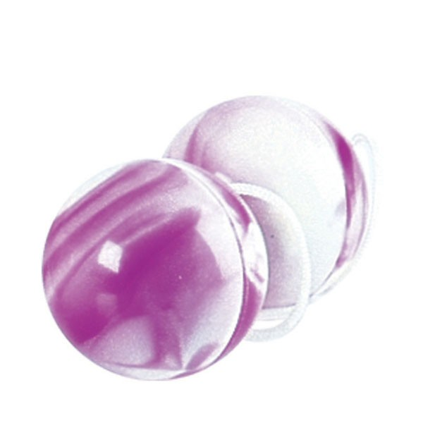 Вагинальные шарики DUOTONE ORGASM BALLS PURPLE