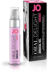 Оральный гель JO ORAL DELIGHT CHERRY BURST со вкусом вишни