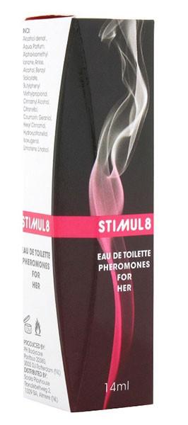 Духи женские с феромонами STIMUL8 PHEROMONES FOR WOMEN
