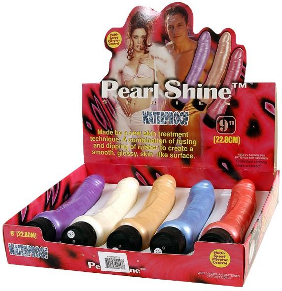 Комплект вибраторов PEARL SHINE (23 см)