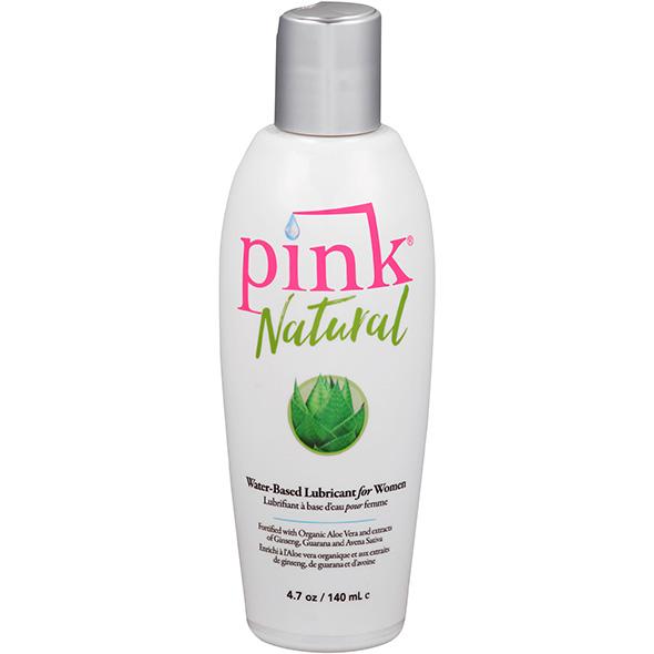 Лубрикант на водной основе Pink Natural 140 Ml