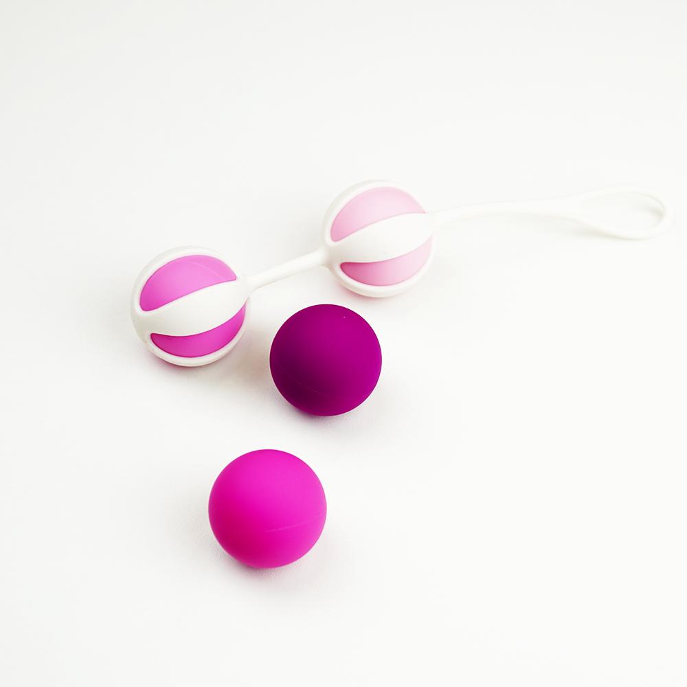 Вагинальные шарики pleasure pearls 3см