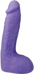 Фаллоимитатор XSKIN 7 PVC DONG, фиолетовый