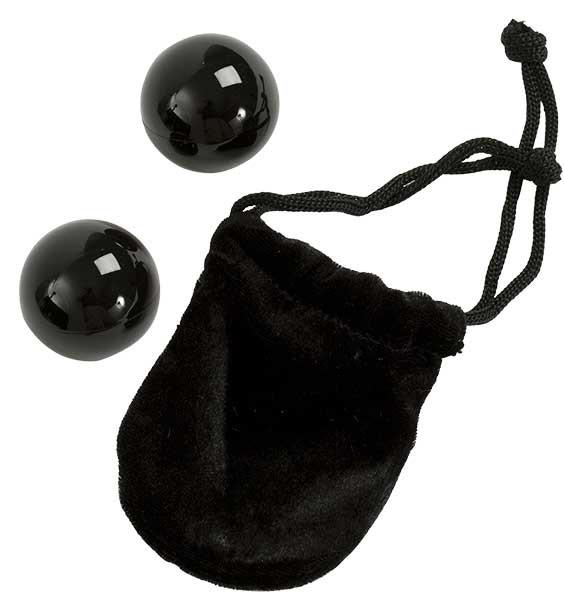 Вагинальные шарики XL BENWA BALLS BLACK (3,2см)