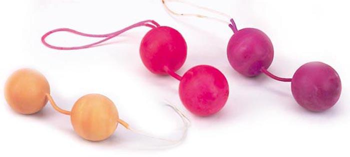 Вагинальные шарики LATEX JIGGLE BALLS