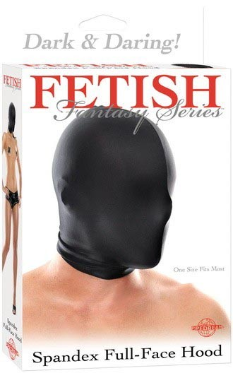 Маска SPANDEX FULL FACE HOOD BLACK