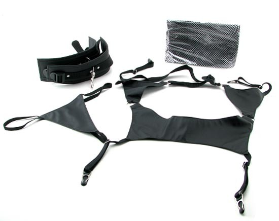 Набор BONDAGE GARTER BELT SET