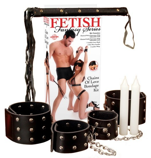 Набор CHAINS OF LOVE BONDAGE KIT