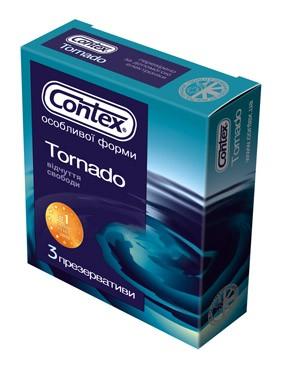 Презервативы TORNADO (3шт.)