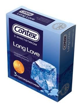 Презервативы LONG LOVE (3шт.)
