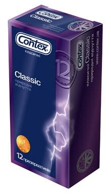 Презервативы CONTEX CLASSIC (12шт.)
