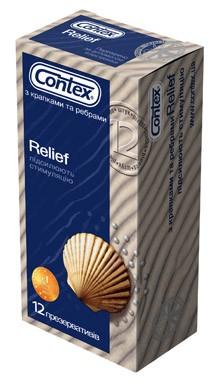 Презервативы CONTEX RELIEF (12шт.)
