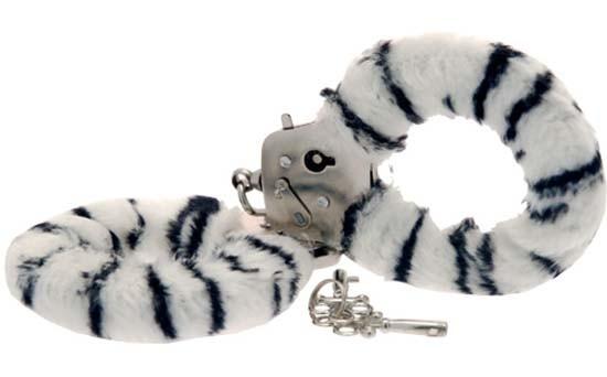 Наручники Furry Fun Cuffs, зебра