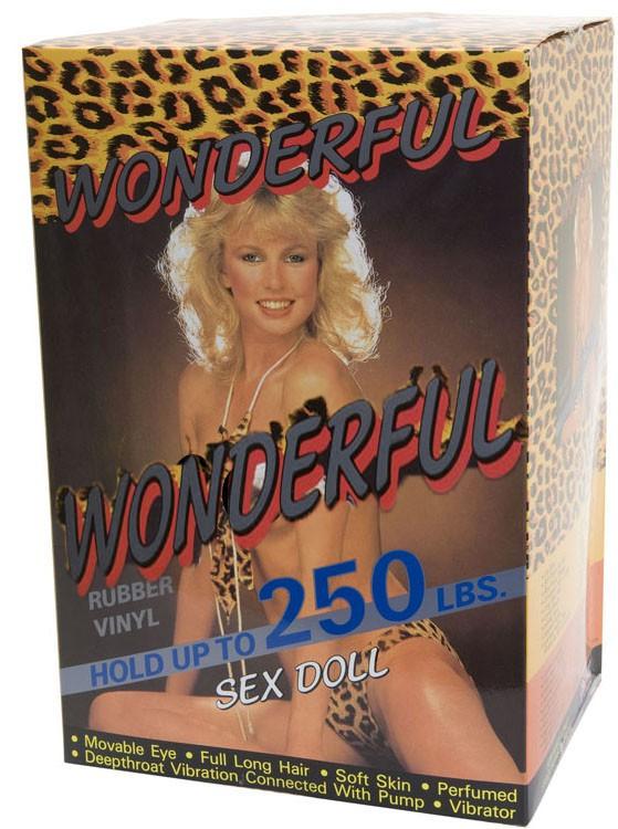 Надувная секс кукла WONDERFUL SEX DOLL