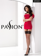 Чулки ST021 1/2 nero - Passion photo 3